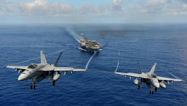2 US Navy jets crash in Pacific ocean
