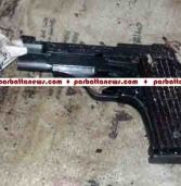 Two gamblers held with a foreign made pistol, 4 round live bullets at Rangamati