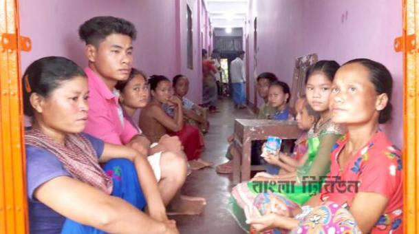 50 tribal families leave home for local terrorists in Bandarban
