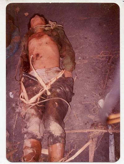 Dead Body of Pakuakhali Genocide- 4