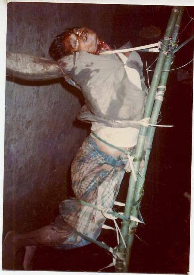 Dead Body of Pakuakhali Genocide- 6